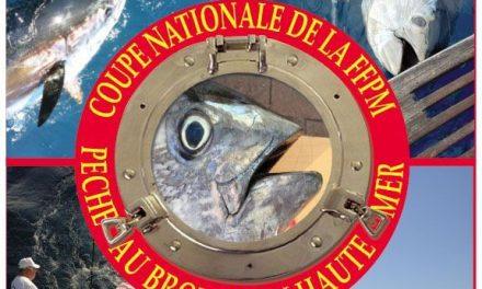 Coupe Nationale FFPM de Pêche au Broumé Haute Mer