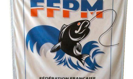 Drapeau FFPM 1m X 1m