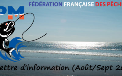 Newsletter n°02 – Août-Septembre 2016