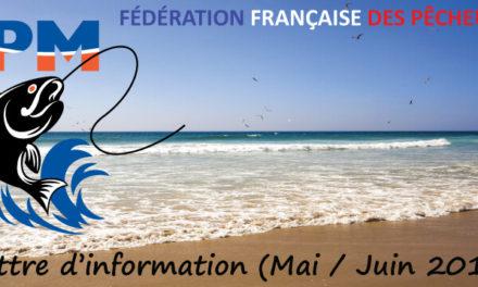 Newsletter n°06 – Mai-Juin 2017