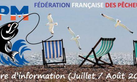 Newsletter n°07 – Juillet-Août 2017