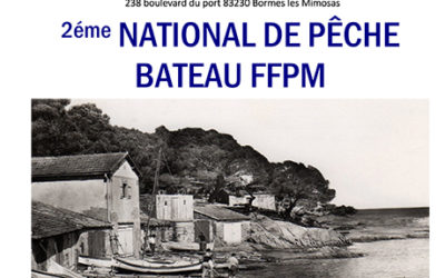 SECOND NATIONAL FFPM BATEAU 2018 A BORMES LES MIMOSAS