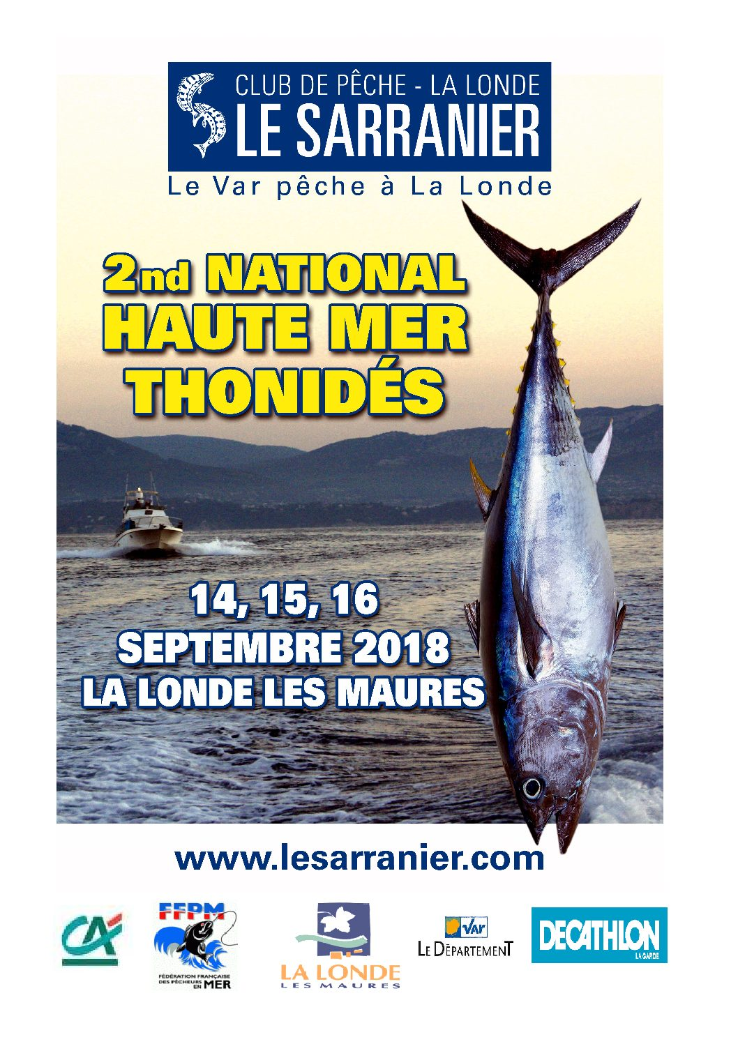 SECOND NATIONAL HAUTE MER THONIDÉS