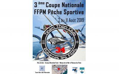 3ème COUPE NATIONALE FFPM de PÊCHE SPORTIVE