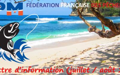 Newsletter n°19 – Juillet-Aout 2019