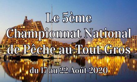 Résultats du 5ème NATIONAL FFPM de PÊCHE SPORTIVE A LA GRANDE MOTTE