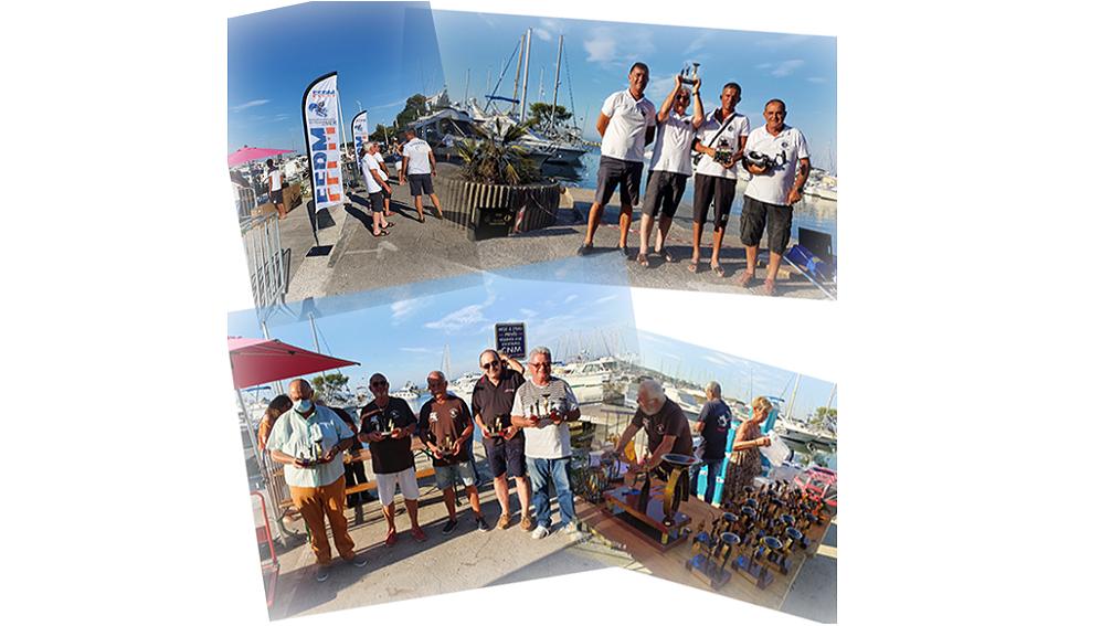 Résultats de la 4ème COUPE NATIONALE FFPM organisée par le Club Nautique de Martigues